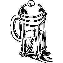 Frisk ristet kaffe